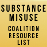 2020 Coalition Resource List - Finding Help for Substance Misuse