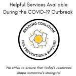 Helpful services during COVID-19 for Mental Health and Substance Use