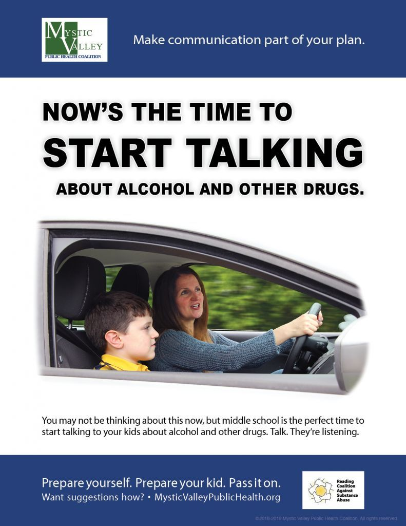 Now's the Time to Start Talking About Alcohol & Other Drugs
