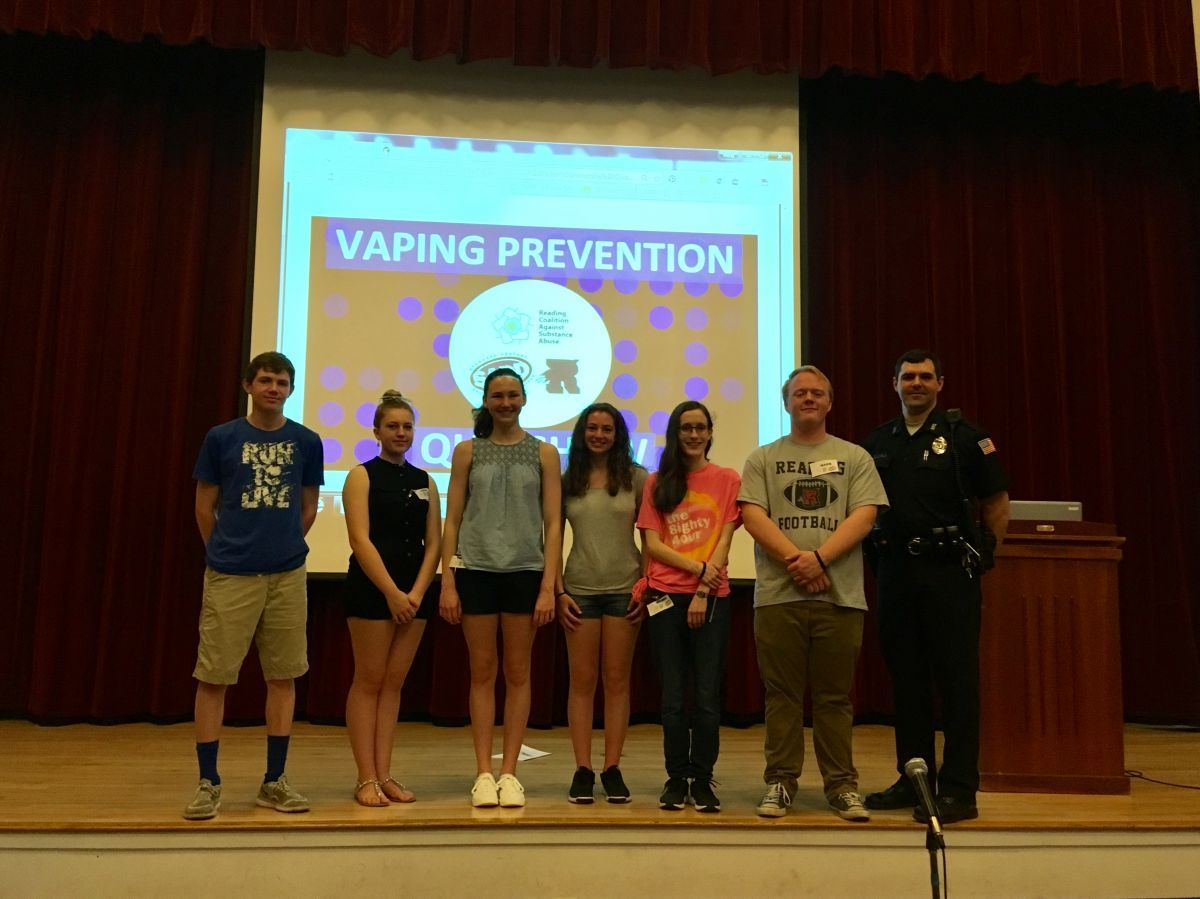 Kudos to our RCASA/RMHS/SADD Student-Led Outreach Team